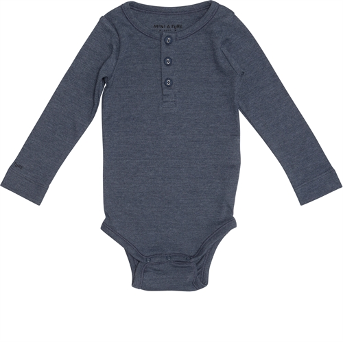 Mini A Ture - Miko Body l/s - Mood Indigo