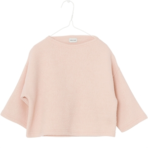 Mini A Ture - Akina bluse i uld - Rose Dust