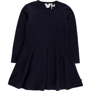 Müsli - Slub sweat kjole - Navy