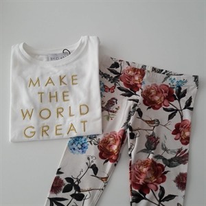 ByClaRa - Flower leggings - Flower