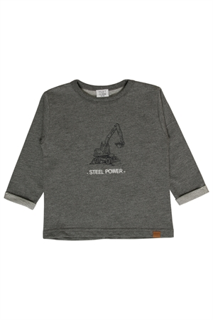 Hust&Claire - Sweatshirt - Wool Grey