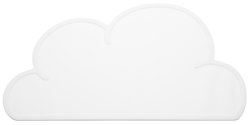 KG Design Sky cloud dækkeserviet dinner mat table mat hvid white