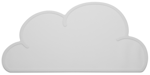 KG Design Sky cloud dækkeserviet dinner mat table mat graa grey