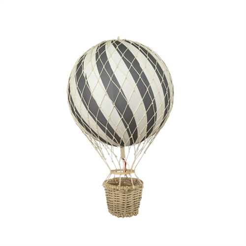 Filibabba luftballon ballon hot air balloon airballoon 20 cm guld gold