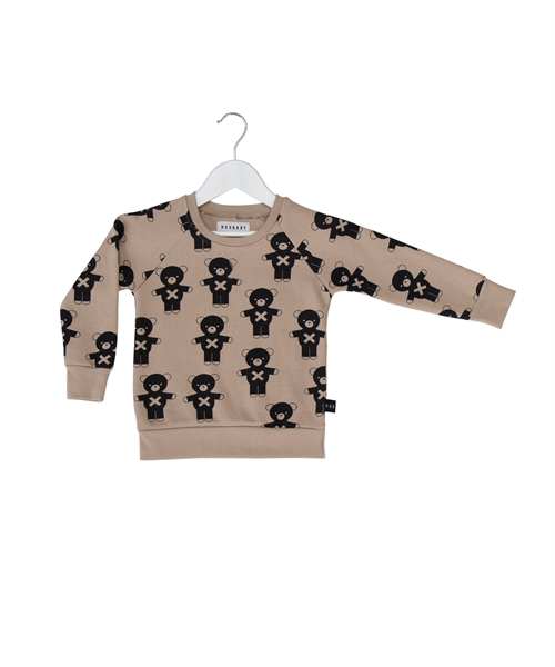 HUXBABY - Soldier Bear Sweatshirt