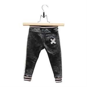 Lucky No.7 - Black Jogdenim bukser - sort