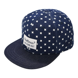 Lucky No.7 - Denim Blue Krise Kross Cap - Blue