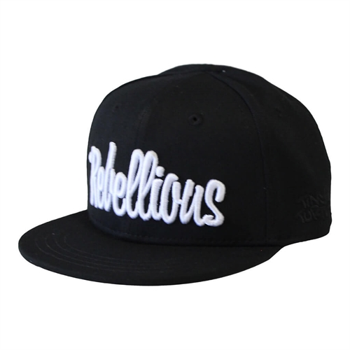 Lucky No.7 - Rebellious Cap - Black