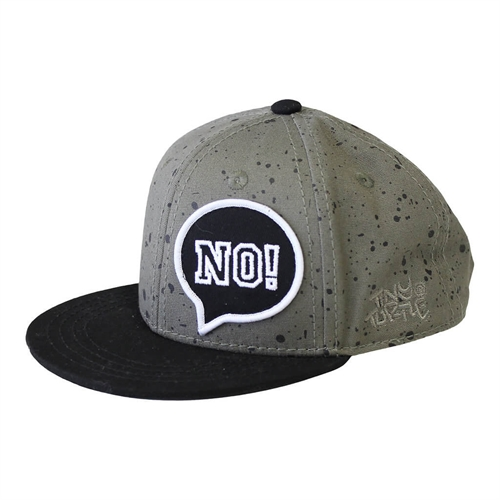 Lucky No.7 - NO! Cap - Army Green