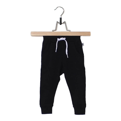 Lucky No.7 - Black Baggy Pants
