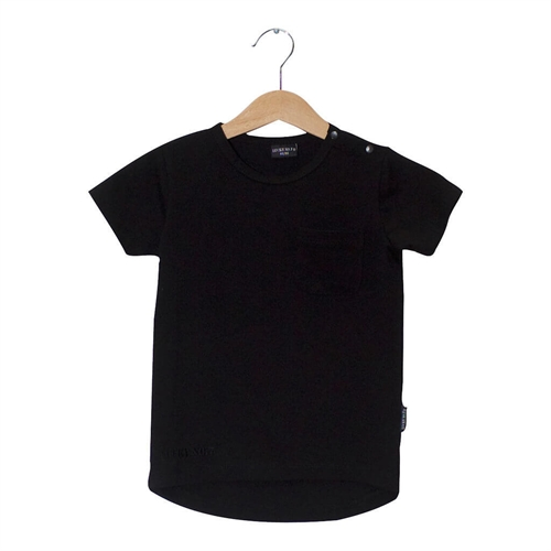 Lucky No.7 - Black Long Tee