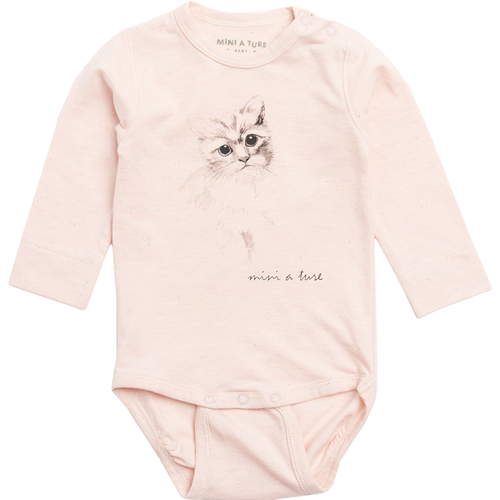 Mini A Ture - Alara Body l/s - Rose