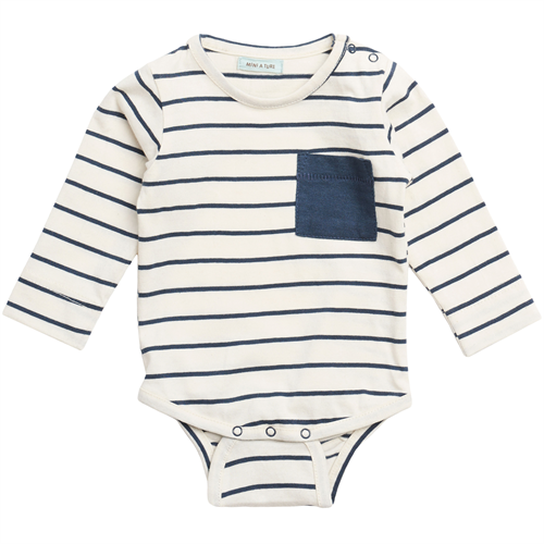 Mini A Ture - Colin Body l/s - Mood Indigo